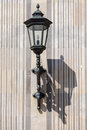 Lamp in hofgarten munich an iron on the entrance portal of the bavaria germany Stock Photo