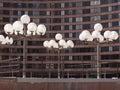 Lamp miejskich Zdjęcia Stock