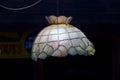 Lamp shade in hotel at vilamoura portugal Royalty Free Stock Photography
