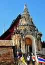 Lampang, Thailand: Entrance to Wat Phra That Lampang Royalty Free Stock Photography