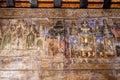 Lampang thailand october thai mural wooden at wat phra that lampang luang lampang province on october in lampang tha Royalty Free Stock Photos