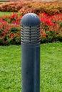 Lamppost lamp post park garden Stock Photos