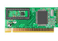 LAN network card Royalty Free Stock Photo