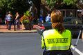 Lancaster Parking Enforcement Officer Royalty Free Stock Photo