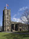 Lancaster priory lancaster england formerly st mary s church is the parish church of the city of in lancashire it is located near Royalty Free Stock Image