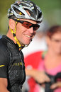 Lance Armstrong at 2012 Livestrong event Royalty Free Stock Image