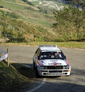 Lancia Delta HF Rally Royalty Free Stock Photos