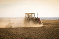Land cultivation Royalty Free Stock Photography