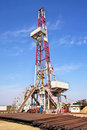 Land drilling rig Royalty Free Stock Images