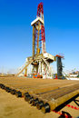 Land drilling rig Stock Photography