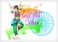 Land that i love hand lettering celebration design to indian ind