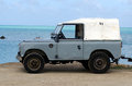 Land rover series ii on aitutaki lagoon cook islands sep sep it s a very old from the s and it the first vehicle to use the well Royalty Free Stock Images
