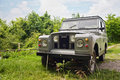 Land Rover Station Wagon Royalty Free Stock Photos
