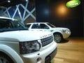 Land Rover SUVs Stock Photos