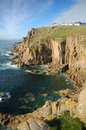 Land's End, Cornouailles Images stock