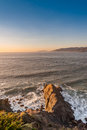 Land's End Sunset Royalty Free Stock Photo
