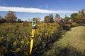 Land Surveying Royalty Free Stock Photo