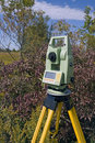 Land Surveying Royalty Free Stock Photo
