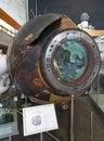 Lander spacecraft Soyuz-34 in Museum of Cosmonautics Tsiolkovsky
