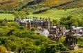 Landmark of Edinburgh - Holyrood Palace Royalty Free Stock Photo