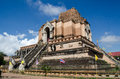 Landmark ruin, Chiang Mai Stock Photos