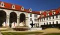 Landmark Wallenstein Palace Prague Royalty Free Stock Photo