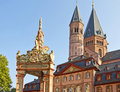 Landmarks of Mainz Stock Photos