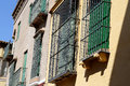Landmarks in the old historical center of seville is protected by unesco andalusia southern spain Stock Images