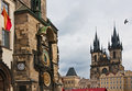 Landmarks of Prague Stock Images