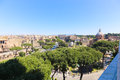 Landmarks of rome italy beautiful view Royalty Free Stock Images