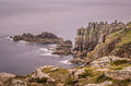Lands end Royalty Free Stock Photo