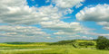 Landscape of agricultural fields nature background Stock Images