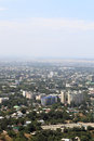 Landscape of Almaty Stock Images