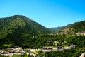 Landscape of Andorra Pyrenees Stock Photos