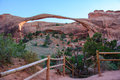 Landscape Arch in Arches National Park, Moab, Utah, United States Royalty Free Stock Photo
