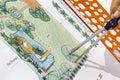 Landscape Architect design water garden plans