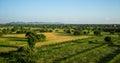 Landscape of Bagan, Myanmar Royalty Free Stock Photo