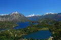 Landscape from bariloche, argentina Royalty Free Stock Photography