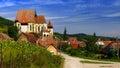 Landscape With Biertan Fortifi...