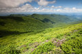 Landscape Blue Ridge Mountains Ridges Valleys NC Royalty Free Stock Image
