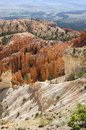 Landscape on the bryce canyon Royalty Free Stock Photo