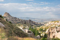 Landscape in Cappadocia, Turkey Royalty Free Stock Photo