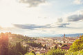 Landscape of the city of Florence Royalty Free Stock Photo