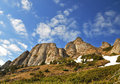 Ciucas cliffs Royalty Free Stock Photo