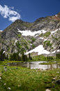 Landscape of colorado indian peaks wilderness Royalty Free Stock Photography