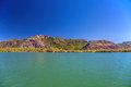 Landscape of dalyan river turkey Royalty Free Stock Photography