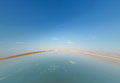 Landscape dead sea in israel the summer day Royalty Free Stock Photography