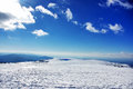 Landscape of estrela mountain on winter Stock Photography