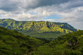 Landscape of giants castle game reserve dramatic views the hills the drakensberg range in the kwazulu natal south africa Stock Images
