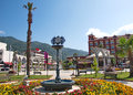 Landscape of Icmeler downtown near Marmaris, Turkey Royalty Free Stock Photo